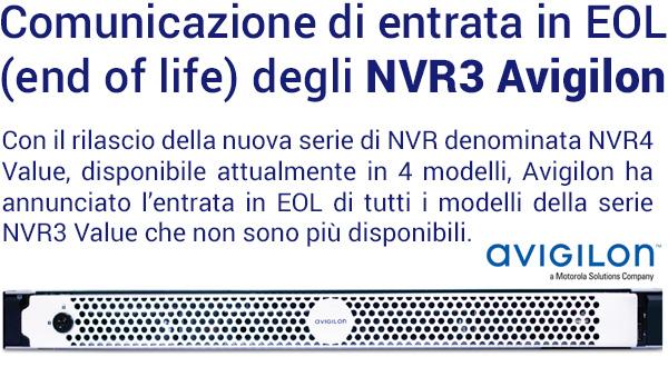 EOL NVR3 Avigilon