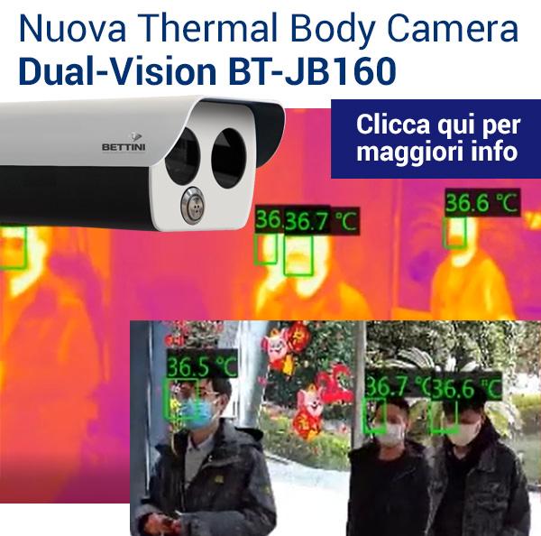 Thermal Body Camera Dual-Vision BT-JB160