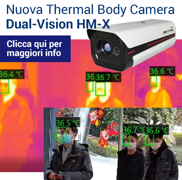 Nuova Thermal Body Camera Dual-Vision HM-X