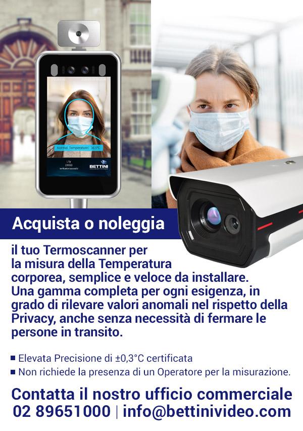 Acquista o noleggia la nuova termocamera Bettini
