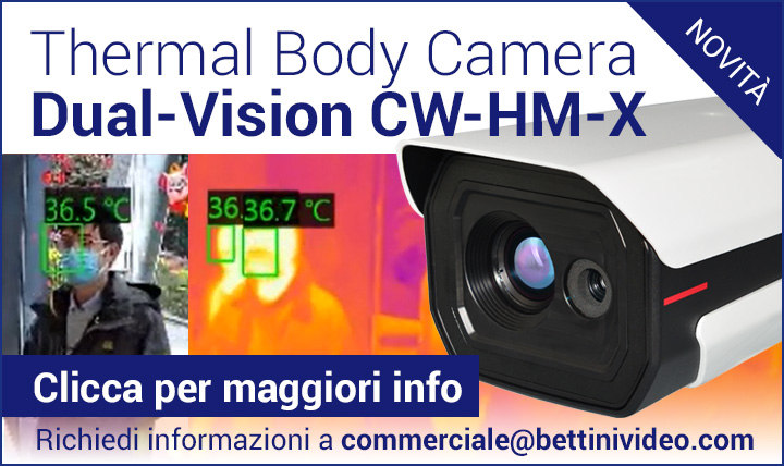 Nuova Thermal Body Camera Dual-Vision CW-HM-X