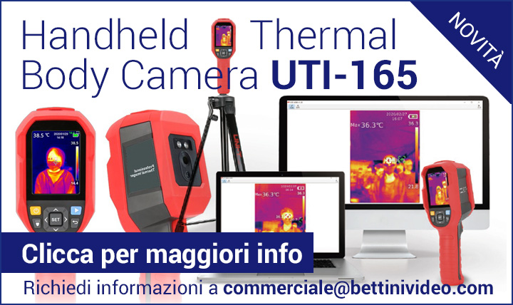 Thermal Body Camera portatile UTi-165